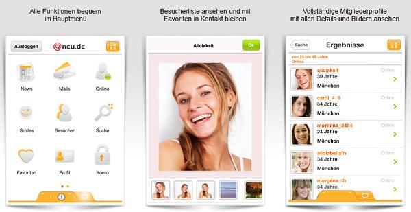 NEU.DE App